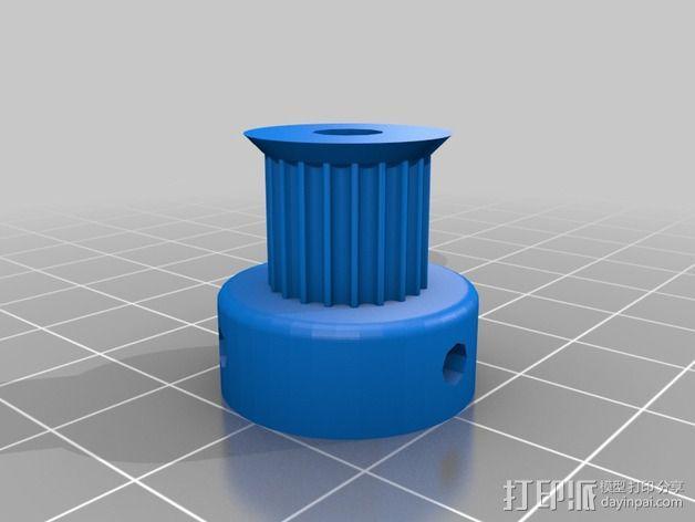 Prusa i2打印机轴承套件 3D模型  图5