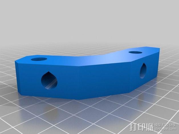 Prusa i2打印机轴承套件 3D模型  图9