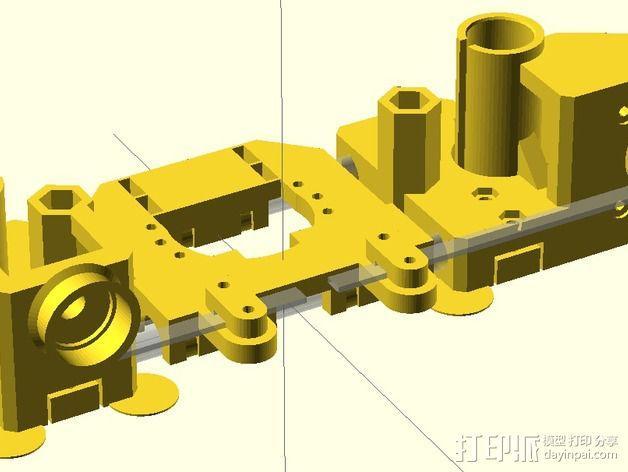 Prusa i2打印机轴承套件 3D模型  图17