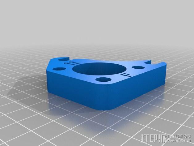 Prusa i2打印机轴承套件 3D模型  图21