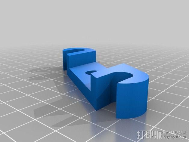 Prusa i2打印机轴承套件 3D模型  图23