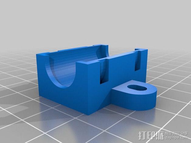 Prusa i2打印机轴承套件 3D模型  图27