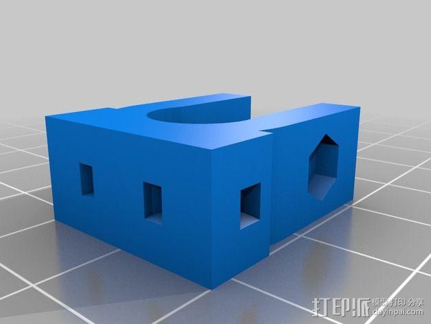 Prusa i2打印机轴承套件 3D模型  图25