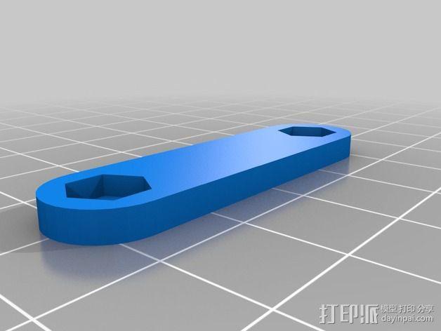 Prusa i2打印机轴承套件 3D模型  图29