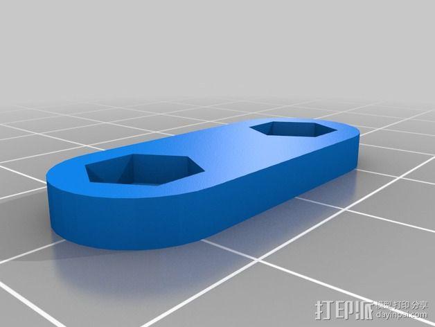 Prusa i2打印机轴承套件 3D模型  图30