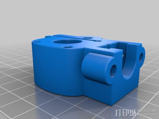 线材挤出器 3D模型  图2