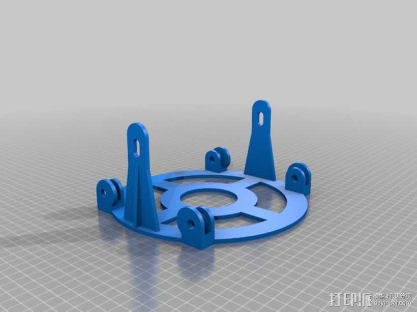 通用式线轴支架 3D模型  图4