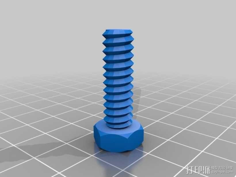 通用式线轴支架 3D模型  图9