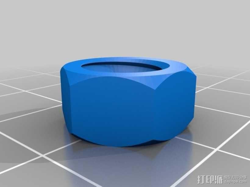 通用式线轴支架 3D模型  图10