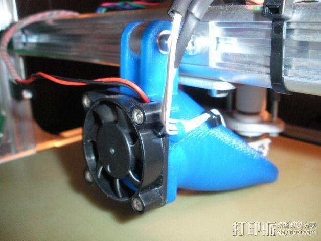 风扇通风导管 3D模型  图3