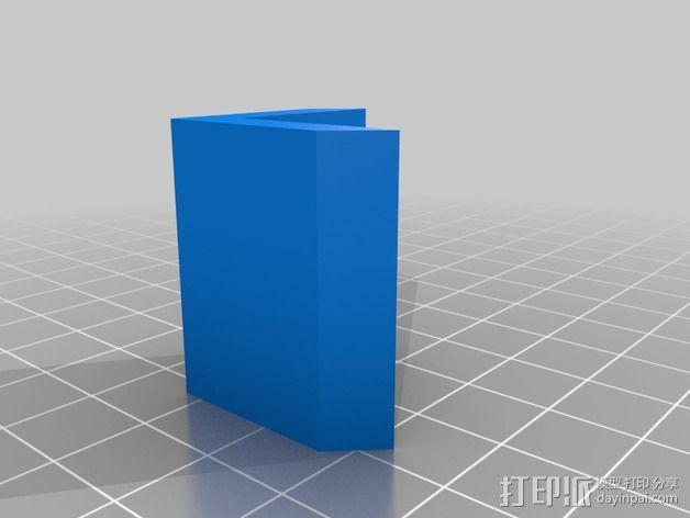 3D打印机外罩支撑 3D模型  图2