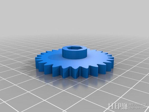 挤出机 3D模型  图2