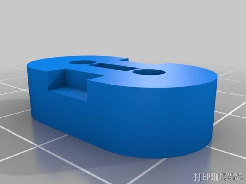 皮带固定器 挤出机支架  3D模型  图6