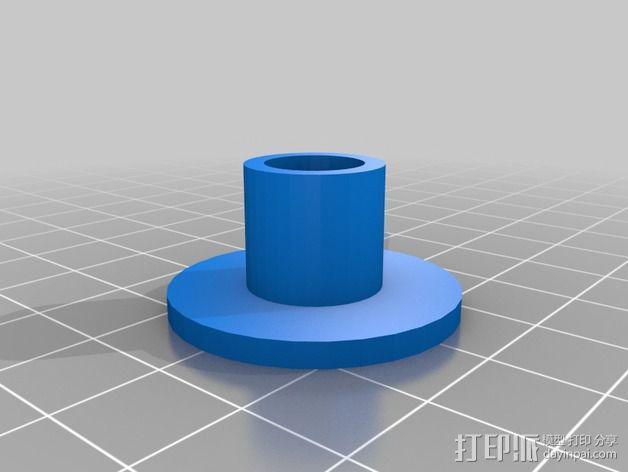 线轴固定器 线轴架 3D模型  图2