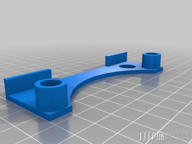 线轴固定器 线轴架 3D模型  图4
