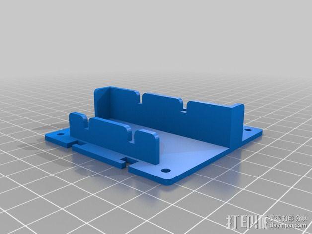 电路板保护罩 电路板支架 3D模型  图5