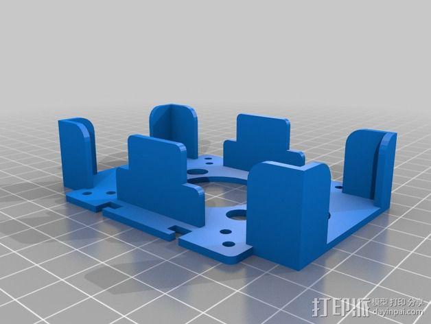 电路板保护罩 电路板支架 3D模型  图4