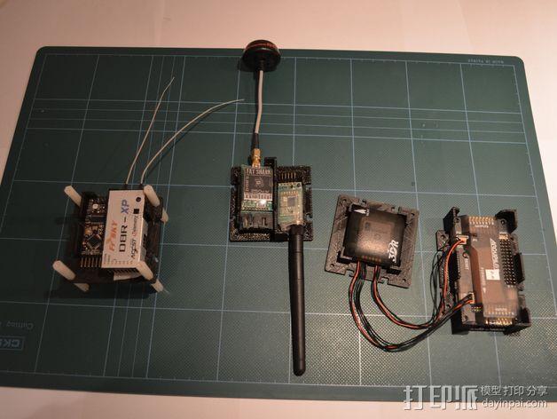 电路板保护罩 电路板支架 3D模型  图8