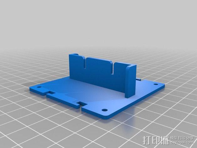 电路板保护罩 电路板支架 3D模型  图6