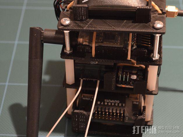 电路板保护罩 电路板支架 3D模型  图9