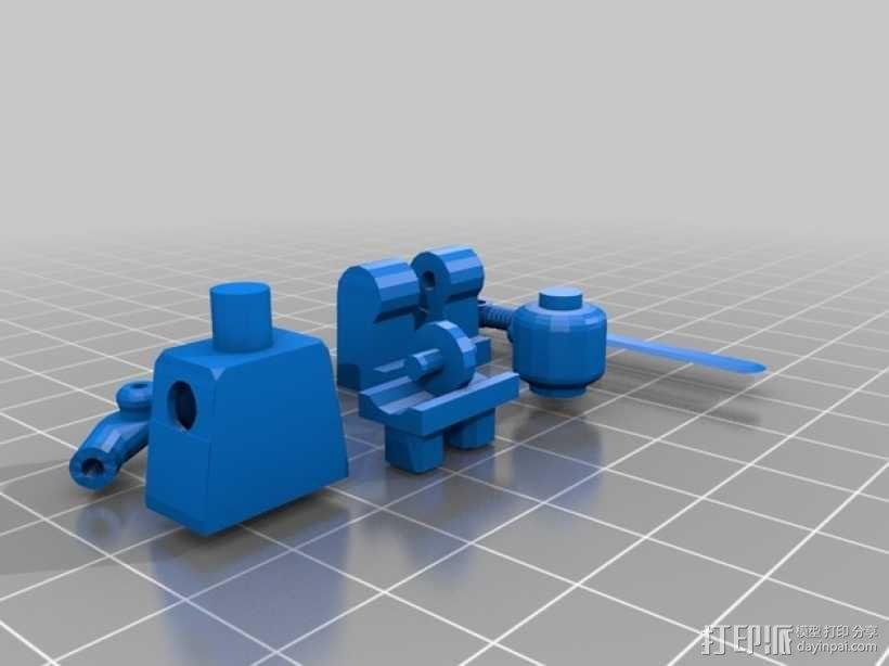 乐高机器人 3D模型  图1