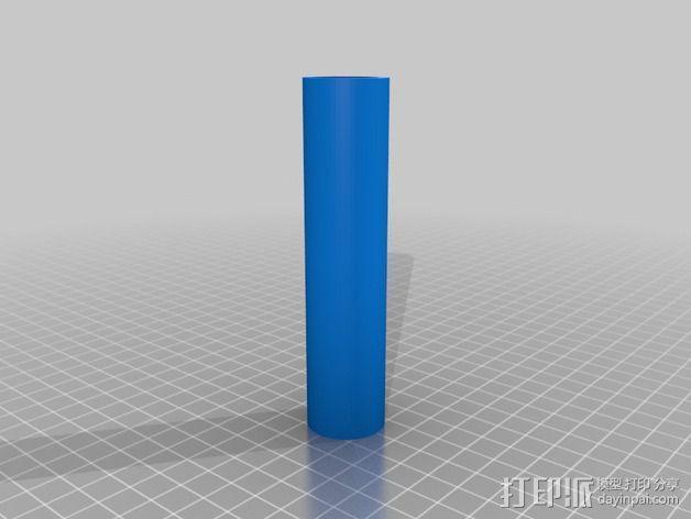 独立式线轴支架 3D模型  图2