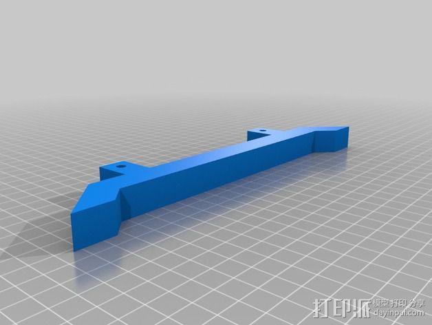 独立式线轴支架 3D模型  图6