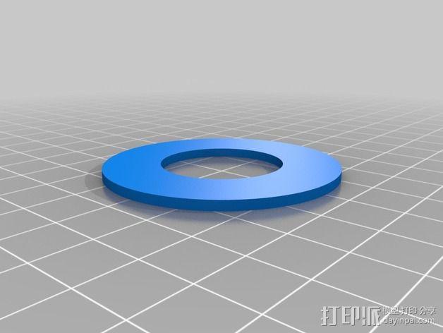 独立式线轴支架 3D模型  图5