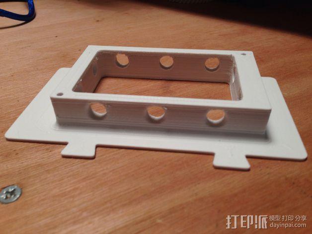 RAMPS 1.4电路板保护罩 3D模型  图6