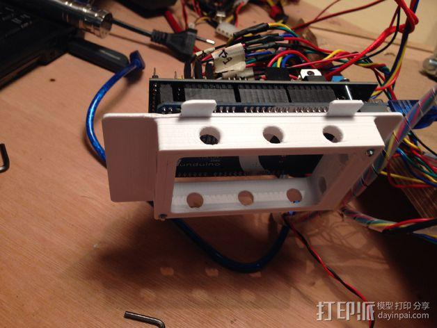 RAMPS 1.4电路板保护罩 3D模型  图9