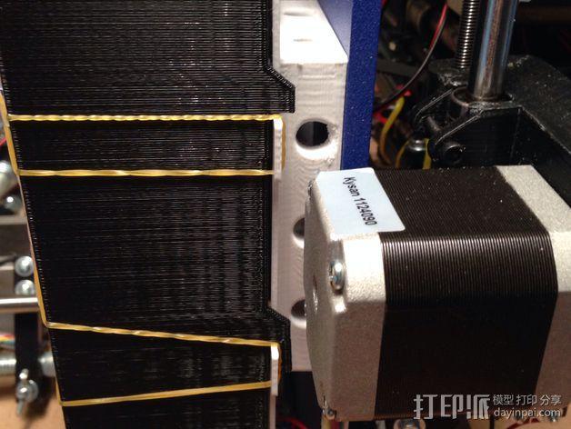 RAMPS 1.4电路板保护罩 3D模型  图10