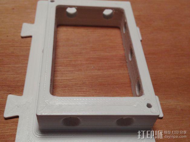 RAMPS 1.4电路板保护罩 3D模型  图12