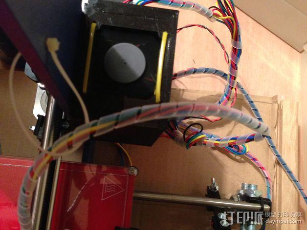 RAMPS 1.4电路板保护罩 3D模型  图18