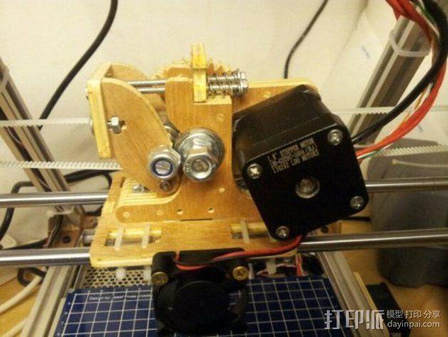 MendelMax打印机木质部件 3D模型  图3