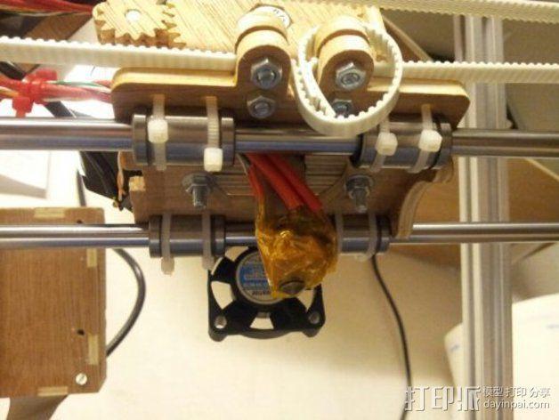MendelMax打印机木质部件 3D模型  图6