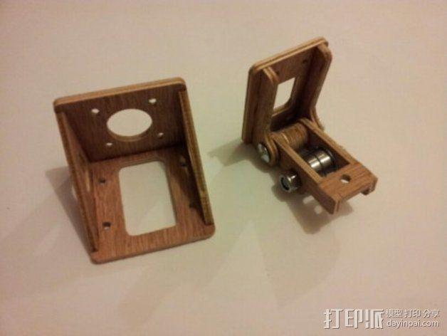 MendelMax打印机木质部件 3D模型  图15