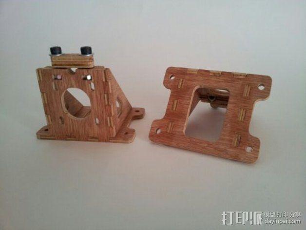 MendelMax打印机木质部件 3D模型  图17