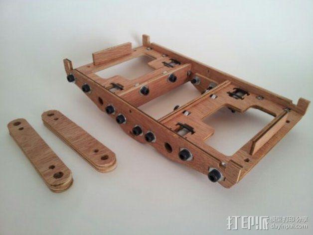 MendelMax打印机木质部件 3D模型  图19