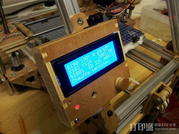 MendelMax打印机木质部件 3D模型  图21