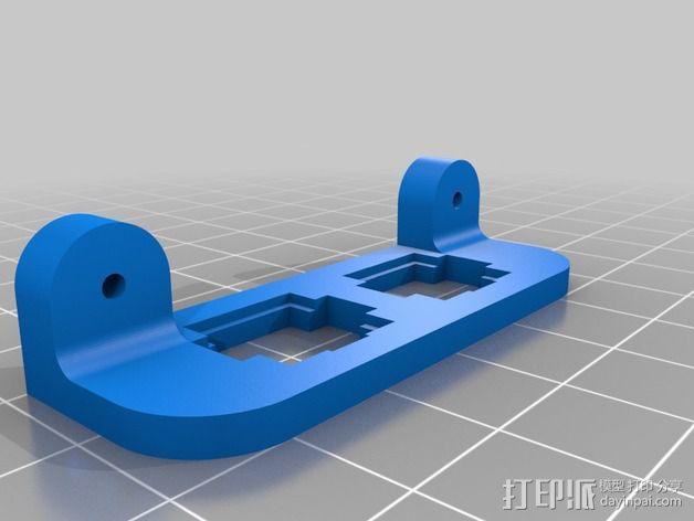 ATX电源固定框 3D模型  图3