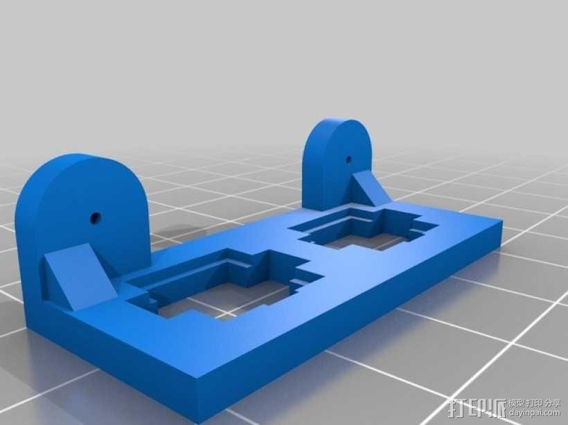 ATX电源固定框 3D模型  图5