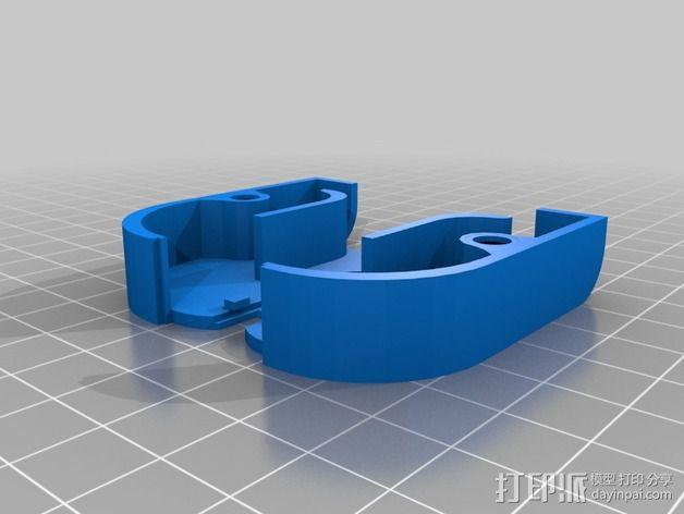 MakerFarm Prusa i3 打印机散热装置 3D模型  图3