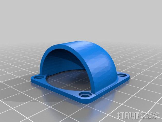 MakerFarm Prusa i3 打印机散热装置 3D模型  图2