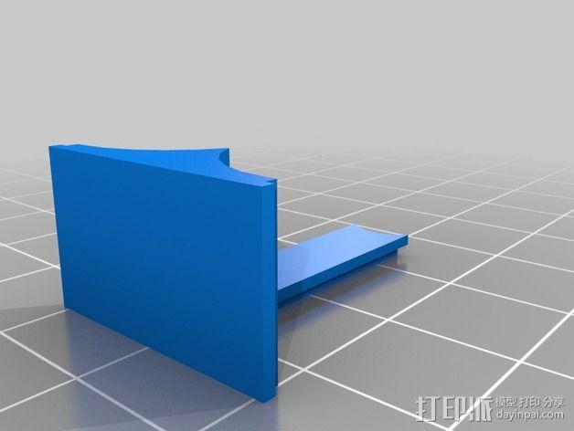 MakerFarm Prusa i3 打印机散热装置 3D模型  图4
