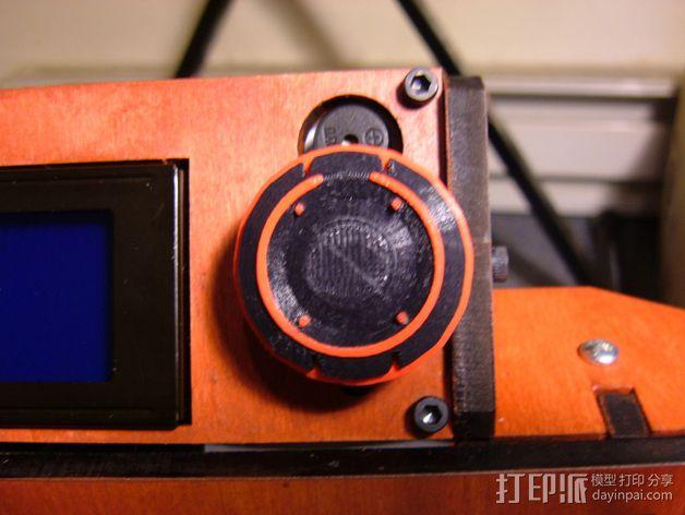 智能控制机旋钮 3D模型  图2
