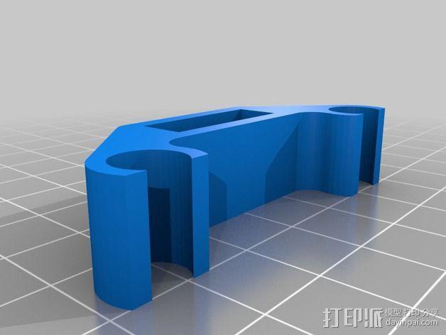 限位开关 3D模型  图1