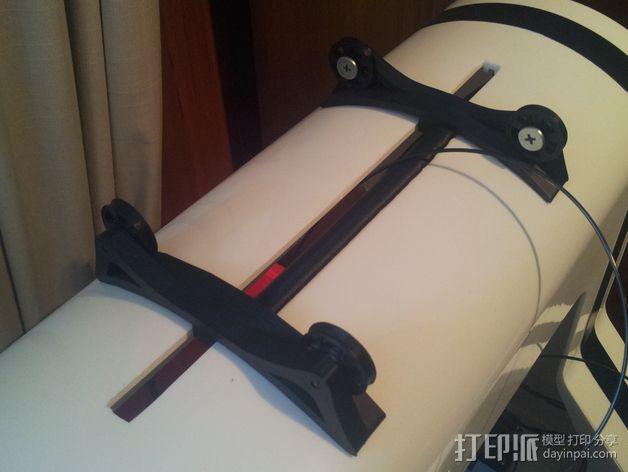 RoBo 3D打印机顶部线轴支架 3D模型  图2