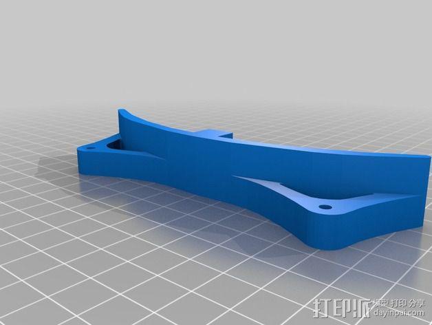 RoBo 3D打印机顶部线轴支架 3D模型  图5