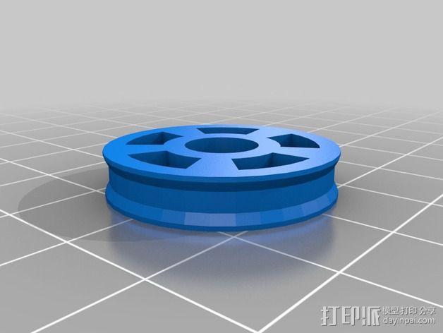 RoBo 3D打印机顶部线轴支架 3D模型  图6