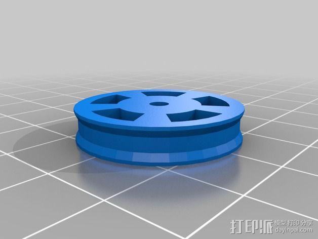 RoBo 3D打印机顶部线轴支架 3D模型  图7